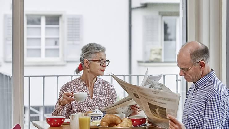 Ob mit oder ohne Kinder im Haushalt - das Leben in Partnerschaft wirkt sich gemäss einer Studie positiv auf die Gesundheit aus. (Symbolbild)
