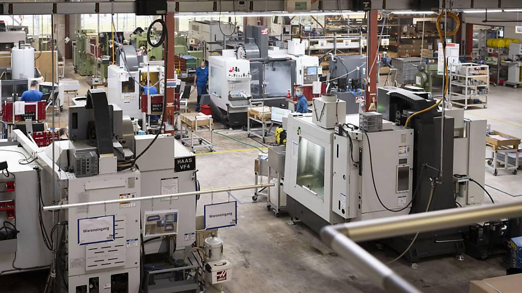 Boomhafte Erholung der Schweizer Industrie dauert an