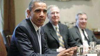 US-Präsident Barack Obama ist unzufrieden mit den Schuldengesprächen.
