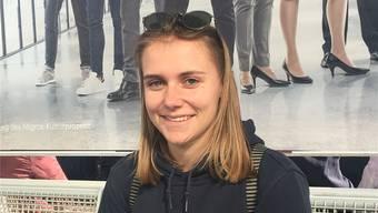 Ladina Vonder Mühll (21), angehende Studentin, Suhr.