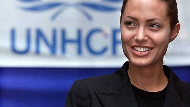 UNHCR-Botschafterin Angelina Jolie (Archiv)