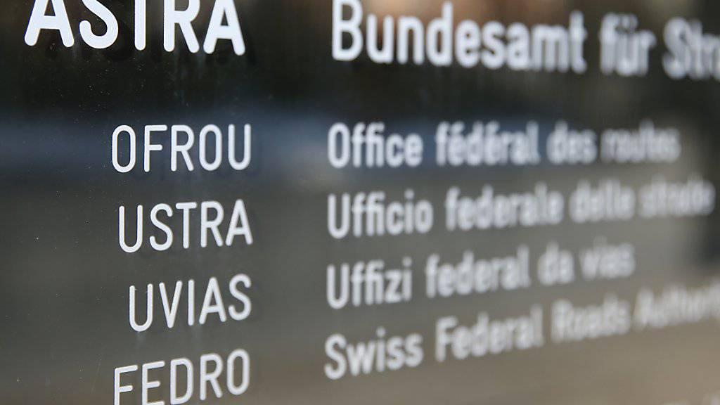 Von der Bundespolizei durchsucht: die Walliser Aussenstelle des Bundesamts für Strassen (ASTRA) in Visp. (Archivbild)