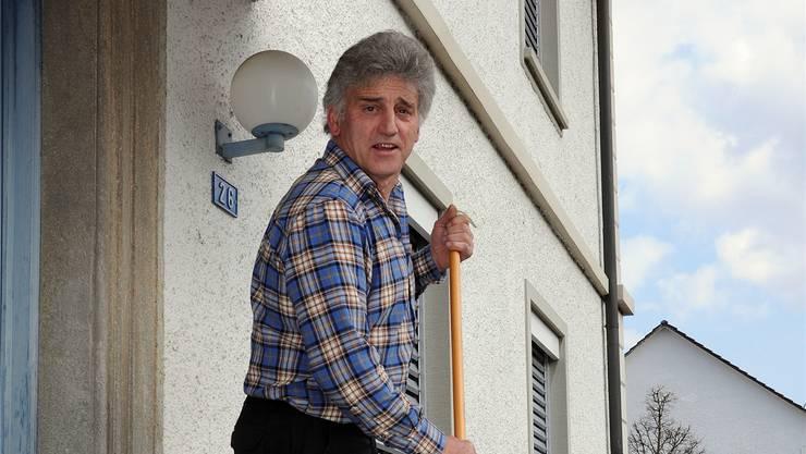 Kurt Aeberhard war 30 Jahre im Wald tätig, bevor er ins Bauamt wechselte.