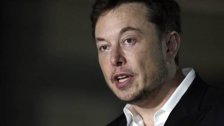 Nicht mehr Tesla-Präsident: Tesla-Chef Elon Musk gibt den Vorsitz im Tesla-Verwaltungsrat ab. (Archiv)