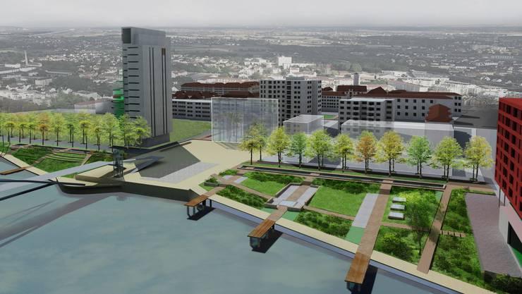 Das Rheinufer wird bis 2015 neu gestaltet.