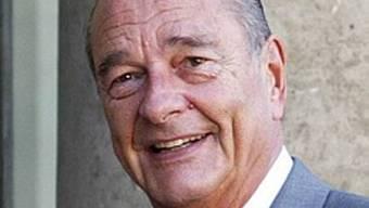 Frankreichs Altpräsident Jacques Chirac