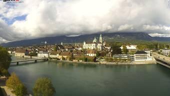 Webcams auf Weissenstein, in Solothurn und beim Lido