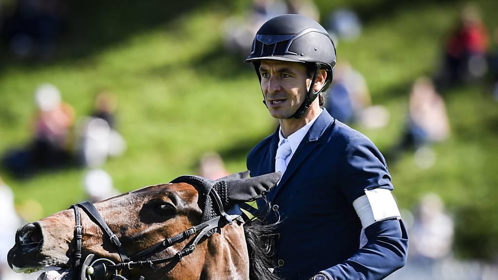 Der Weltranglisten-Erste Steve Guerdat verzeichnete mit Venard de Cerisy am Nationenpreis-Final in Barcelona als Schweizer Schlussreiter zwei Abwürfe.