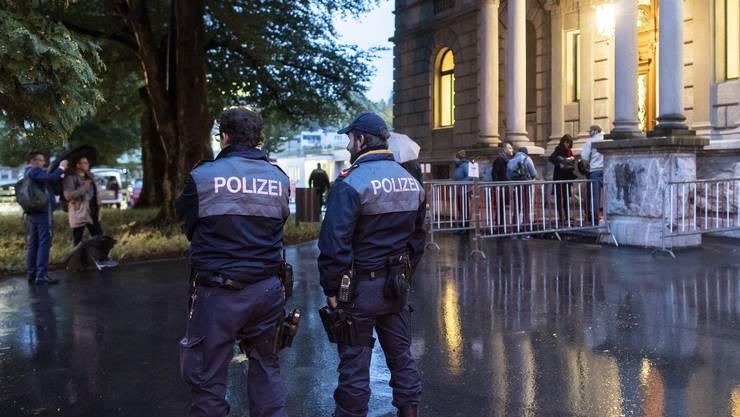 Prozess gegen die Angeklagten der An'Nur-Moschee in Winterthur.