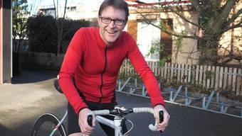 Das Rennradfahren ist heute das grosse Hobby von Philipp Weiss. Es hilft ihm, «den Kopf durchzulüften». Thomas Wehrli