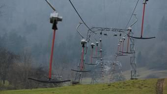 Aussergewöhnlich: In dieser Wintersaison lief der Skilift von Langenbruck noch kein einziges Mal.
