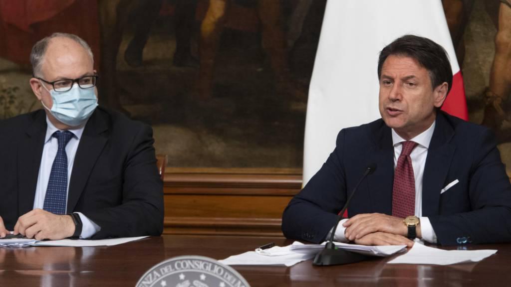 Italien verlängert Corona-Massnahmen bis 7. September
