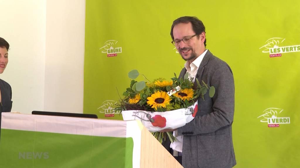 Grüne wählen Balthasar Glättli zum neuen Parteipräsidenten