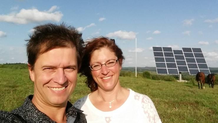 Katja Ulm und Peter Müller aus Moosleerau züchten nun Rennpferde in den Weiten von Ontario, Kanada. zvg