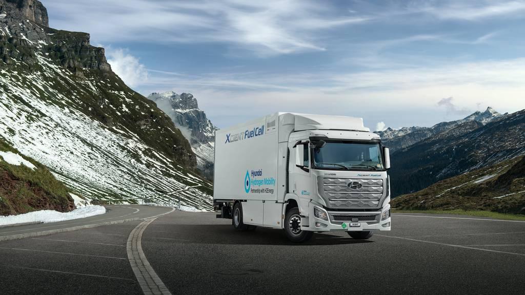 Die ersten Wasserstoff-Lastwagen sind in Luzern