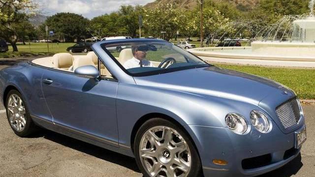 Diebesgut: Ein Bentley (Symbolbild)