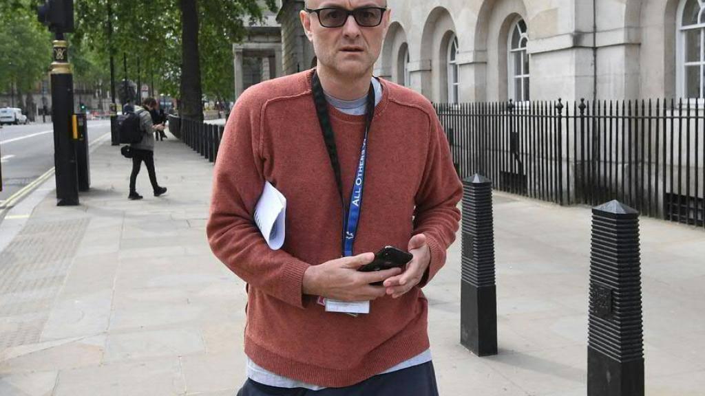 Dominic Cummings, Berater des britischen Premiers Boris Johnson, steht unter Beschuss, weil er die Lockout-Regeln der Regierung nicht eingehalten haben soll. (Archiv)