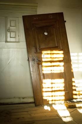 Diese Tür wird spätestens bis August 2016, wenn die Schwestern in die Klausur in der Klosteranlage zurückkehren können, wieder an ihrem Platz stehen
