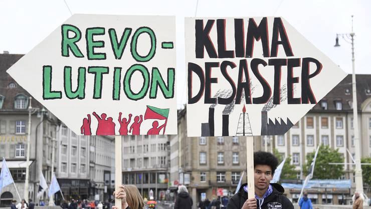 Schon am 1. Mai wurde für die Climate Games geworben.