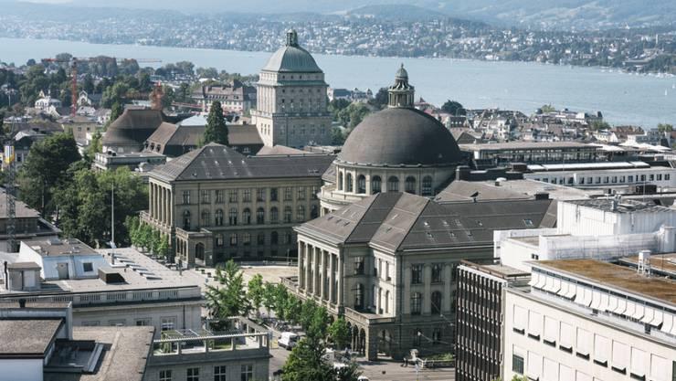 Auf einem neu erstellten Index der wichtigsten Wissenschaftsstädte liegt Zürich (Bild ETH) auf Platz 16 - immerhin als beste deutschsprachige Wissenschaftsstadt. (Symbolbild)