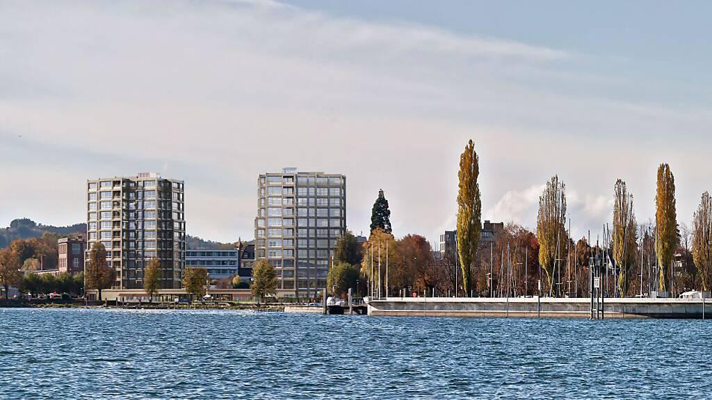 Wohntürme am See - Arbon verfolgt Projekt «Riva» weiter
