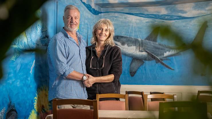 Fischgerichte gehörten in Koblenz zu ihren Spezialitäten. Jetzt wagen Ferdinand und Angie Breg in der Ostschweiz ein Neubeginn.