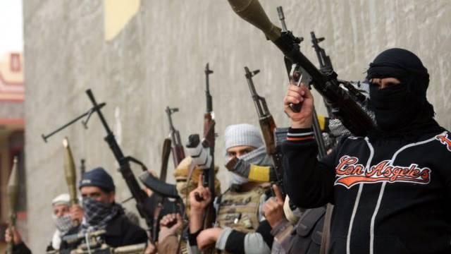 Sunnitische Kämpfer in Falludscha