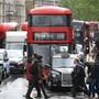 ARCHIV - Wird sich mit den neuen Maßnahmen auch das Straßenbild in Großbritannien verändern?: Eine Woche vor der digitalen Klimakonferenz verkündet die britische Regierung neue Klimaziele. Foto: Arne Dedert/dpa