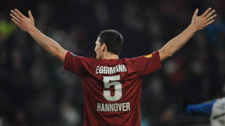 Mario Eggimann im Dress von Hannover