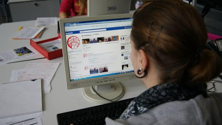 169 Personen verfolgen den BC Solothurn momentan über die Fanseite auf Facebook.  Pensa