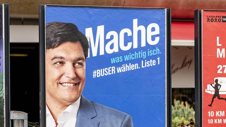 Nicht gewählt: Christoph Buser schaffte die Wahl trotz Finanzspritze und Direktoren-Job nicht.