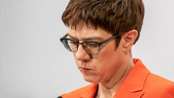 Annegret Kramp-Karrenbauer verzichtet auf eine Kanzlerkandidatur. (Archivbild)