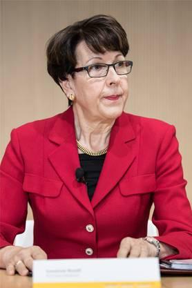 Unter Druck: Post-Chefin Susanne Ruoff