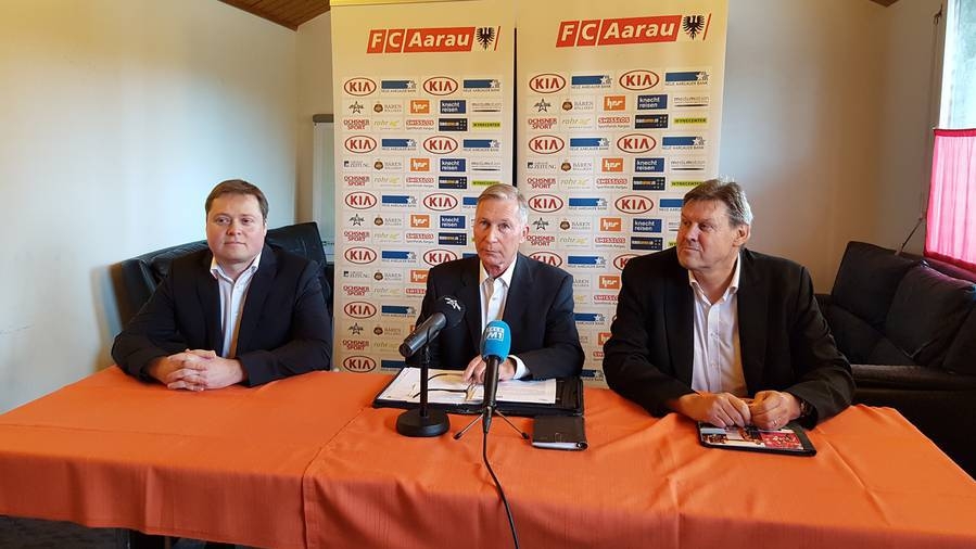 Philipp Bonorand soll neuer FC Aarau Präsident werden