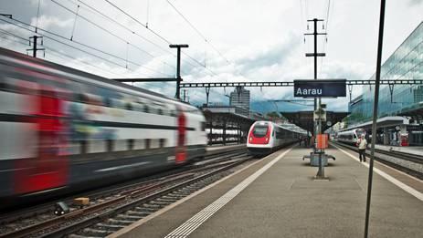 Bahnhof Aarau: Die Direktlinie nach Zürich ist einen Schritt weiter.