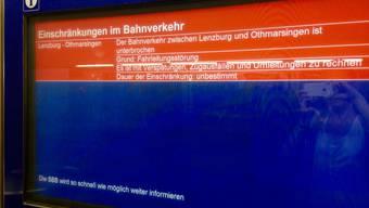 «Am meisten stört mich, dass niemand Wasser verteilt hat – Lenzburg ist ja nicht in der Pampa»: Zugsausfälle sorgen für rote Köpfe bei den Passagieren.