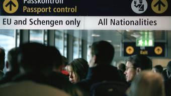 Ein ganzes Terminal wurde am Dienstagmorgen evakuiert. (Symbolbild)