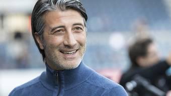 Murat Yakin darf sich gegen Luzern über den ersten Sieg als Sion-Coach freuen