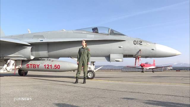 Sie ist die erste Kampfjet-Pilotin der Schweiz