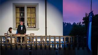 Das Freilichttheater «Julie oder die Gerechtigkeit» ist gut gestartet in Schöftland. Chris Iseli