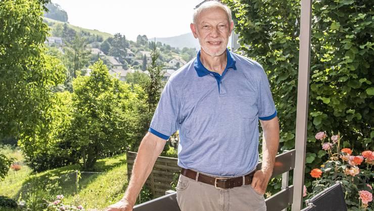 Der langjährige Muttenzer Gemeindepräsident Peter Vogt: «Auch im Ruhestand bin ich kein Visionär.»