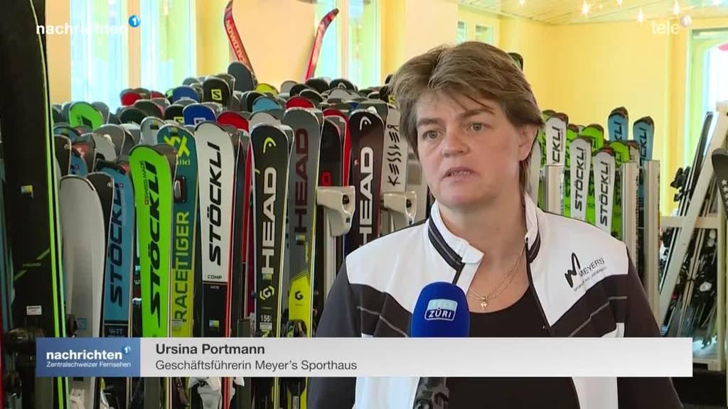 Wandern statt Skifahren in Andermatt