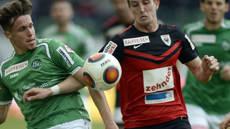 Stephan Andrist (27) stieg mit dem FC Aarau in die Challenge League ab und wechselt nun zum deutschen Drittligisten Hansa Rostock