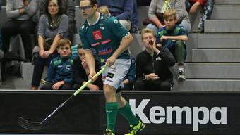 Auch Matthias Hofbauer konnte gegen GC mit seinen zwei Toren am Ende die Niederlage von Tabellenführer Wiler-Ersigen nicht verhindern.