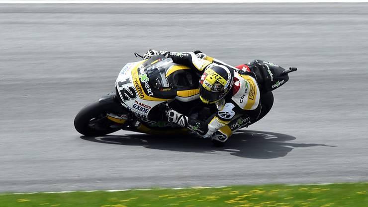 Tom Lüthi bringt seine Maschine in der MotoGP-Klasse weiterhin nicht auf Touren