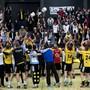 Erster Saisonsieg in der 9. Runde: Fortitudo Gossau hatte wieder einmal Grund zum Jubeln (Archivbild)
