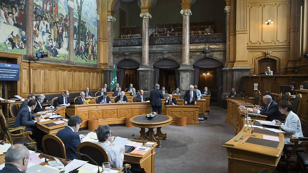 28 Mitglieder des Ständerats beantragen ausserordentliche Session