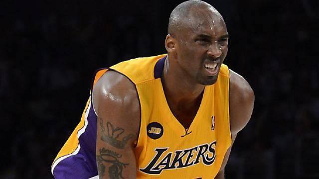 Kobe Bryant wird über ein halbes Jahr ausfallen