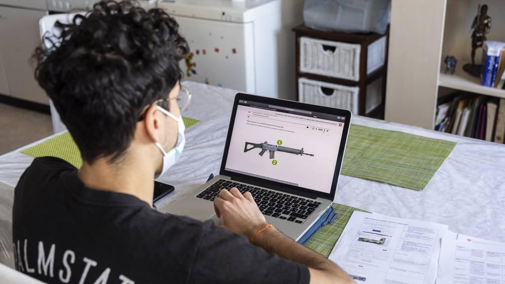«Distance-Learning auch zum Start der Sommer-RS denkbar»