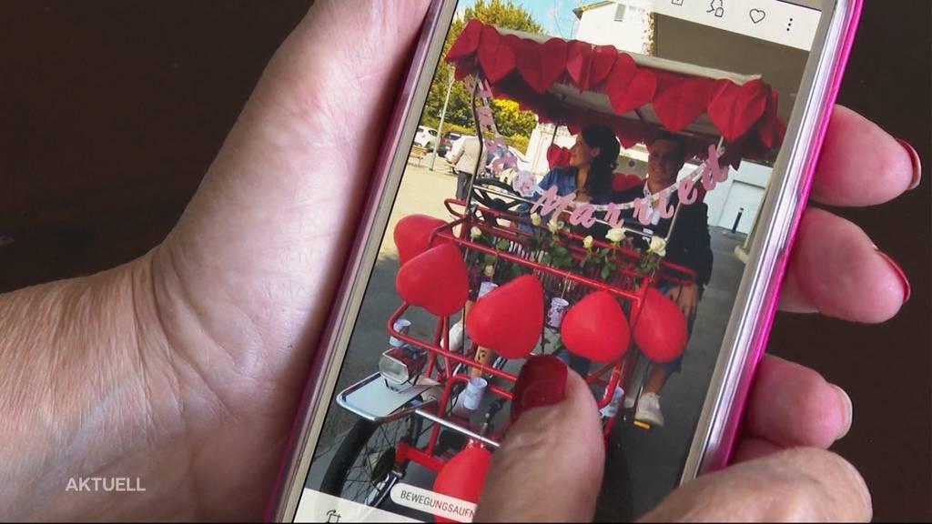 Diebe stehlen Hochzeitsvelo und kurven damit rum – Besitzer bitten um Hilfe